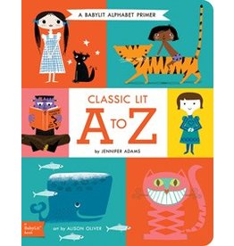 Gibbs Smith BabyLit Alphabet: Classic Lit from A to Z