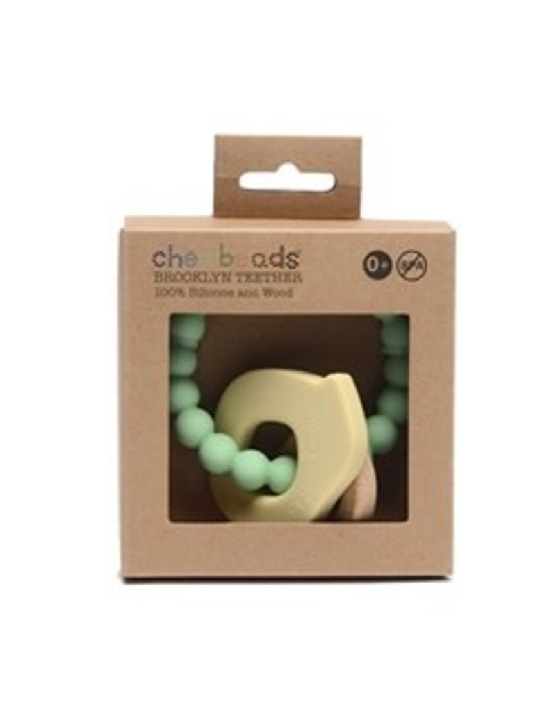 Chewbeads Chewbeads Brooklyn Teether