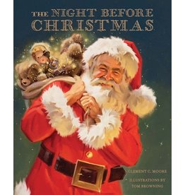 Classic Illustrated The Night Before Christmas Book