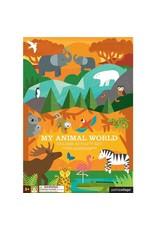 Petit Collage Petit Collage Sticker Activity Set: My Animal World