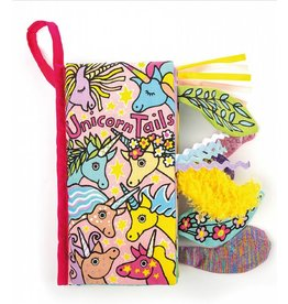 JellyCat JellyCat | Unicorn Tails Book