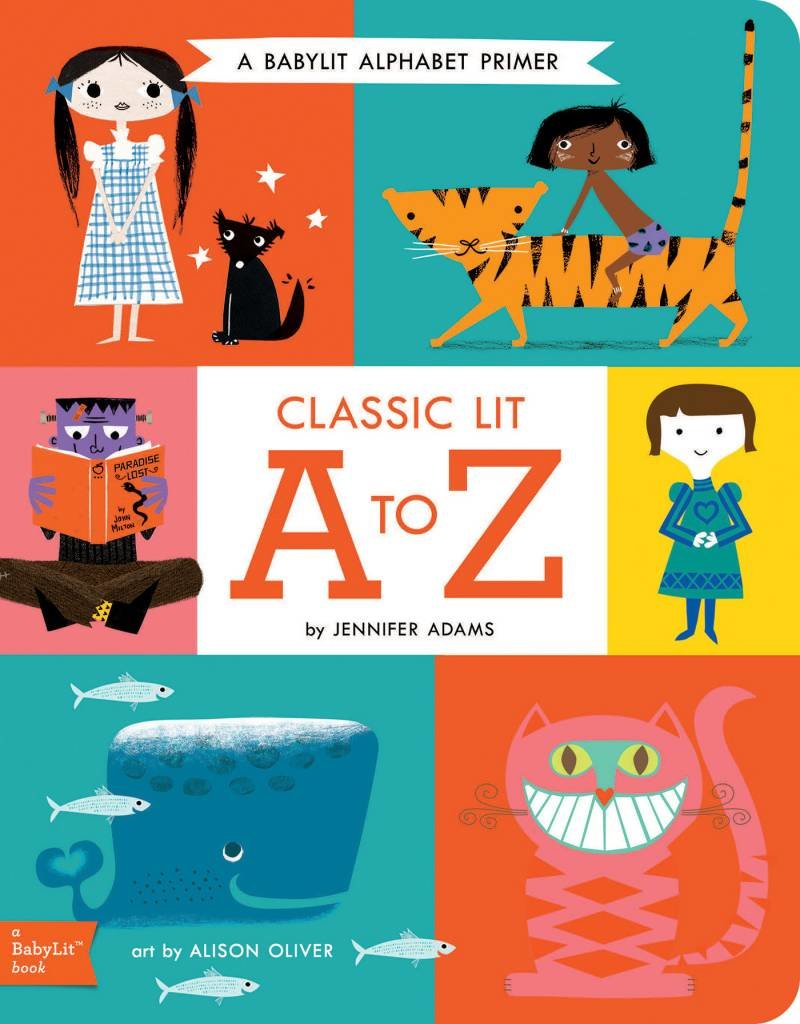 Gibbs Smith BabyLit Alphabet: Classic Lit from A to Z