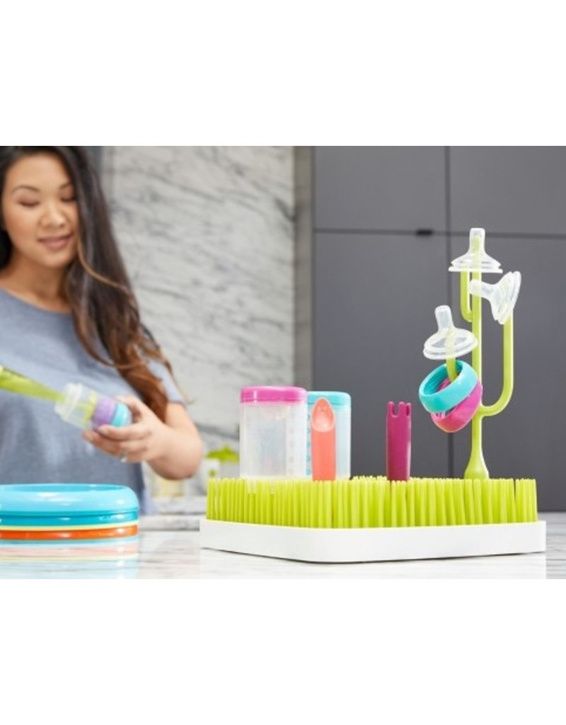 Boon Poke Drying Rack Accessory | Green