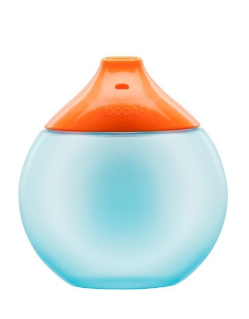 Boon Fluid Sippy Cup by Boon, Blue/Orange, 9oz