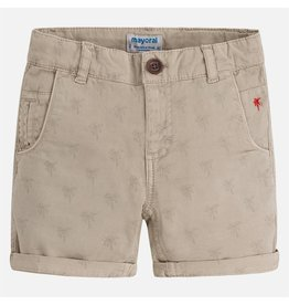 Mayoral Mayoral: Palm Tree Print Shorts