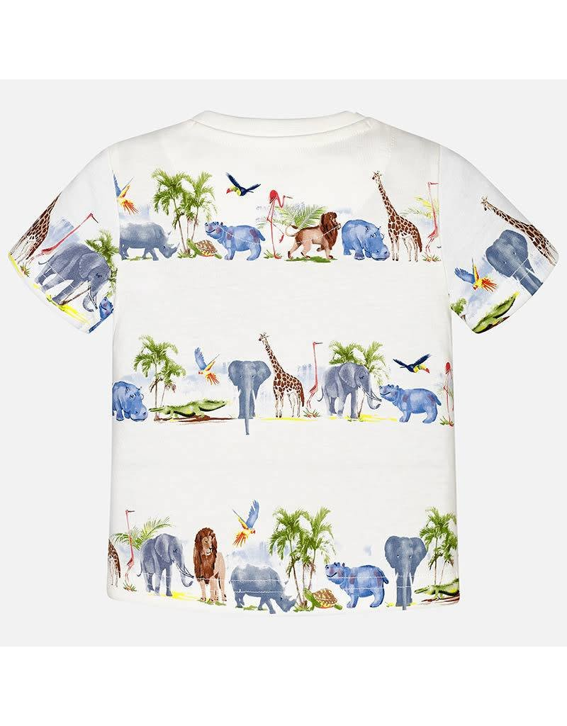 Mayoral Mayoral: Animal Parade Tee