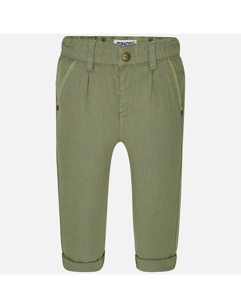Mayoral Mayoral: Textured Chino Baby Pant