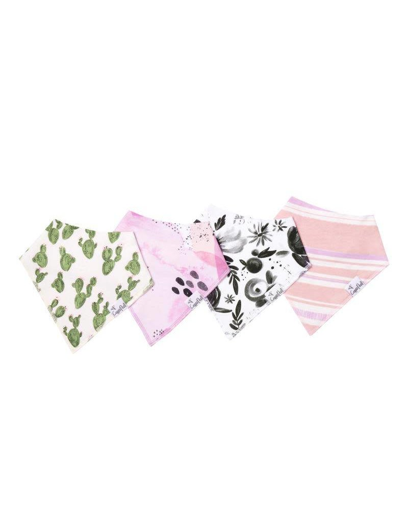 Copper Pearl Copper Pearl: 4-Pack Bandana Bib Set (pinks)