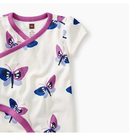 Tea Collection Tea Collection Butterfly Wrap Romper