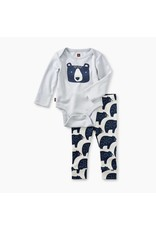 Tea Collection Tea Collection|Bear Bodysuit Baby Outfit