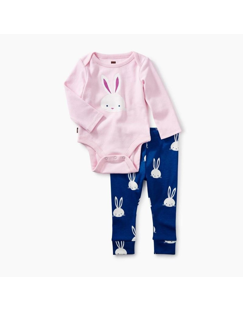 Tea Collection Tea Collection Bunny Baby Outfit