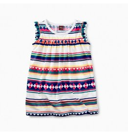 Tea Collection Tea Collection|Stripe Baby Mighty Mini Dress