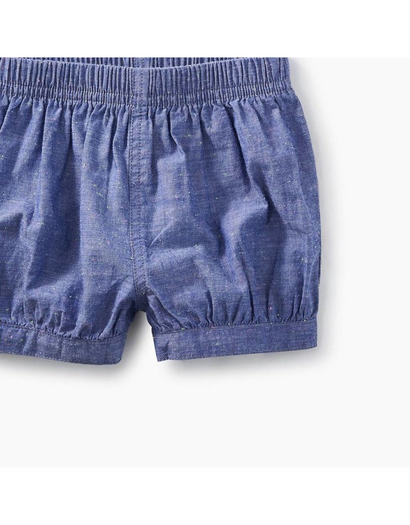 Tea Collection Tea Collection| Chambray Baby Bubble Shorts