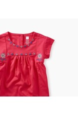 Tea Collection Tea Collection|Floral Embroidered Baby Top