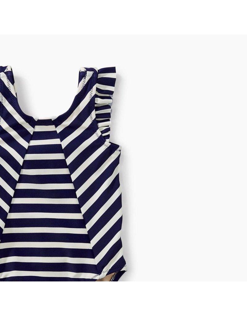 Tea Collection Tea Collection| Ruffle Shoulder Swimsuit