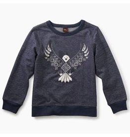 Tea Collection Tea Collection| Eagle Bandana Graphic Sweatshirt