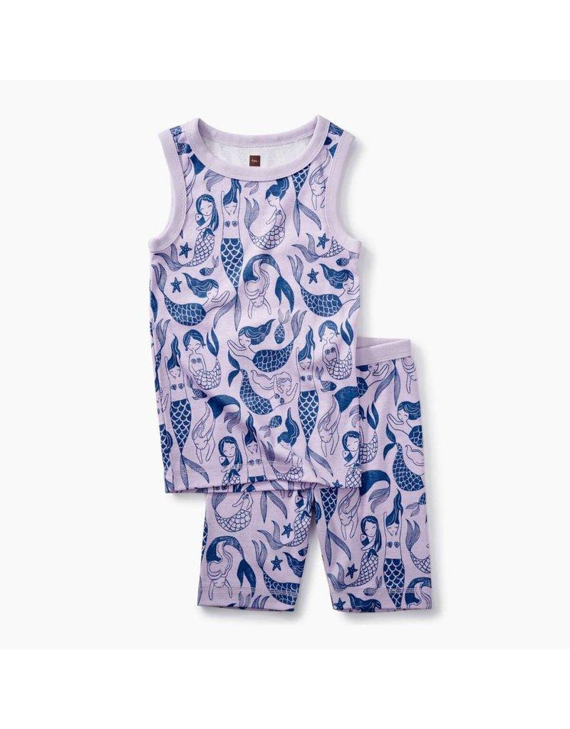 Tea Collection Tea Collection| Sleeveless Mermaids Pajama Set