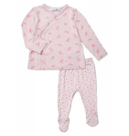 Angel Dear Angel Dear |Little Deer Bamboo Blend Newborn Set