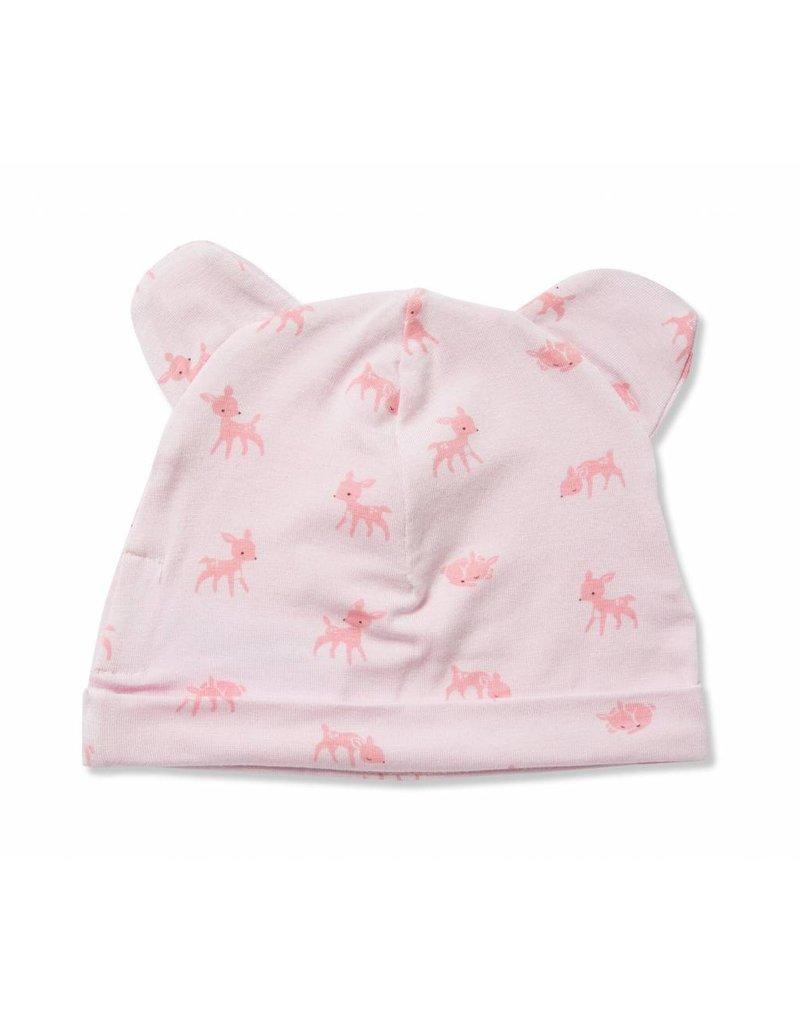Angel Dear Angel Dear |Little Deer Bamboo Blend Bear Hat