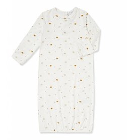 Angel Dear Ditsy Hedgehog Crewneck Gown