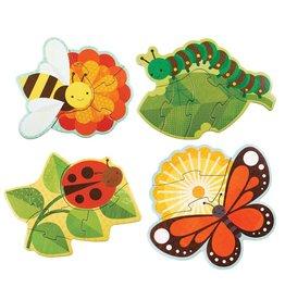 Petit Collage Petit Collage Beginner Puzzle |  Garden Bugs