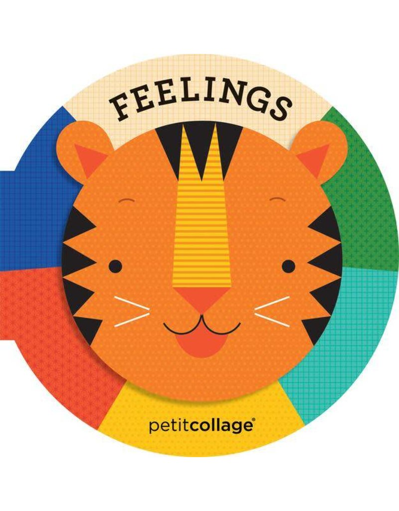 Petit Collage Petit Collage|  Feelings Board Book