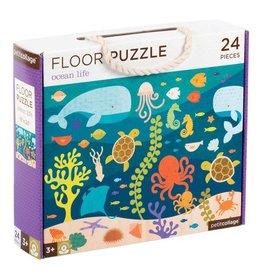 Petit Collage Petit Collage| Ocean Life Floor Puzzle