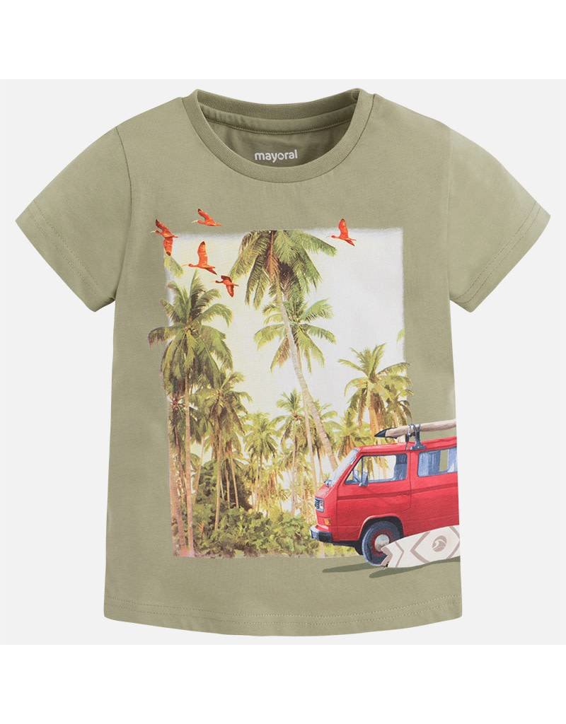 Mayoral Mayoral| Palms & Surf Wrap Graphic Tee