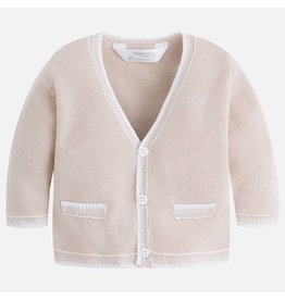 Mayoral Mayoral| Classic V-Neck Baby Cardigan