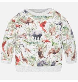 Mayoral Mayoral|Animal Sweatshirt