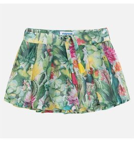 Mayoral Mayoral |Pleated Cactus Skort