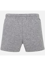 Mayoral Mayoral|Gray Fleece Shorts