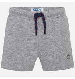 Mayoral Mayoral|Gray Fleece Shorts
