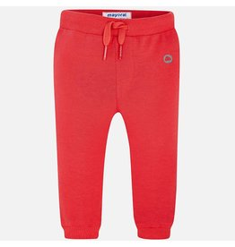 Mayoral Mayoral|Red Fleece Joggers