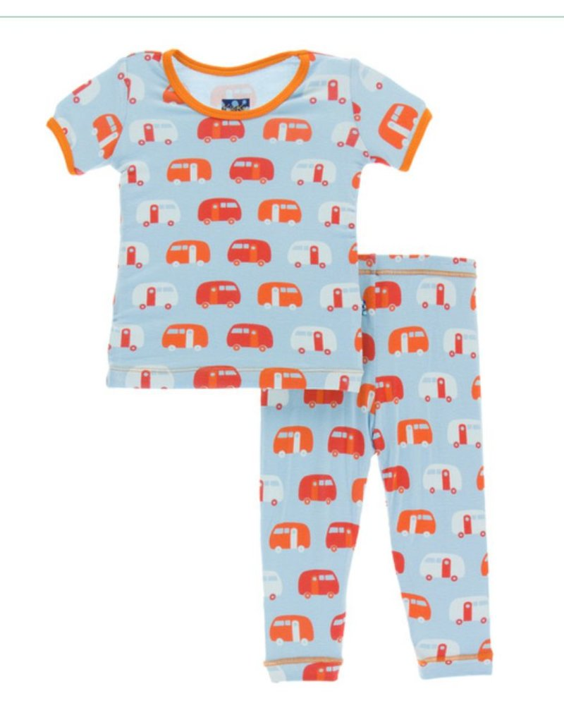 Kickee Pants KicKee Pants: Camper Pajama Set, Infant
