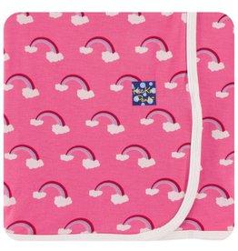 Kickee Pants KicKee Pants: Print Swaddle Blanket, Rainbow