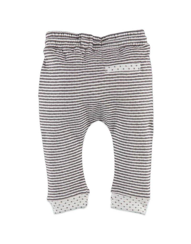 BabyFace Babyface | Striped Drawstring Baby Jogger