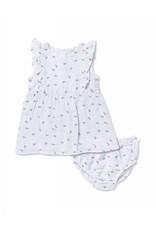 Angel Dear Angel Dear | Anchor Muslin Dress & Bloomer Set