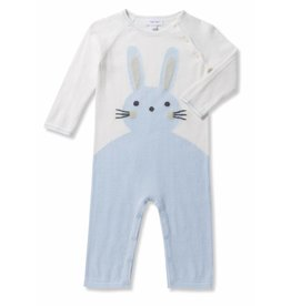 Angel Dear Angel Dear | Bunny Intarsia Coverall