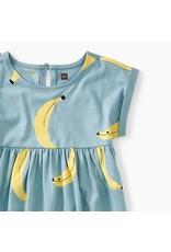 Tea Collection Banana Graphic Empire Dress