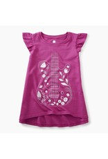 Tea Collection Floral Guitar Twirl Top