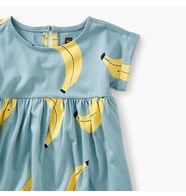 Tea Collection Banana Graphic Baby Dress