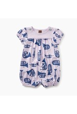 Tea Collection French Horns Button Shoulder Romper
