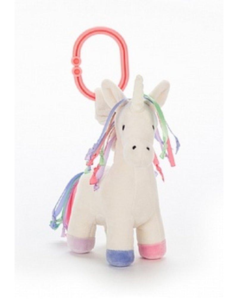 JellyCat Lollopylou Unicorn Jitter Toy
