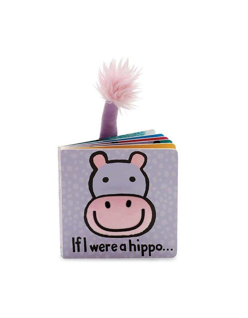 JellyCat If I Were A Hippo Book