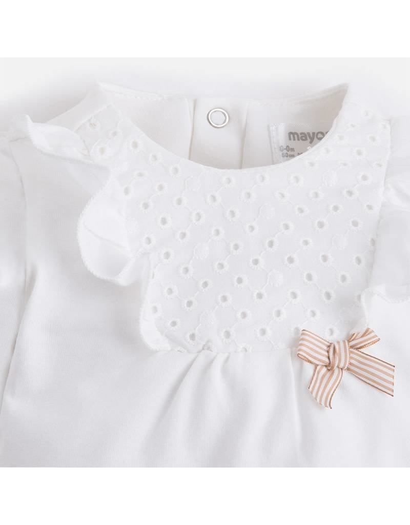 Mayoral Mayoral| Eyelet Lace Newborn Set