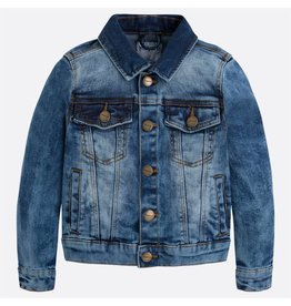 Mayoral Mayoral |Distressed Denim Jacket