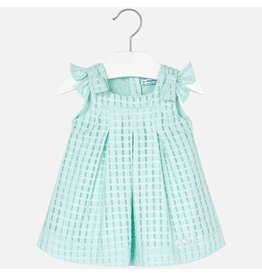 Mayoral Mayoral | Bow Shoulder Baby Dress