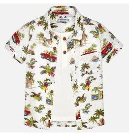 Mayoral Mayoral | Layered Look Safari Shirt