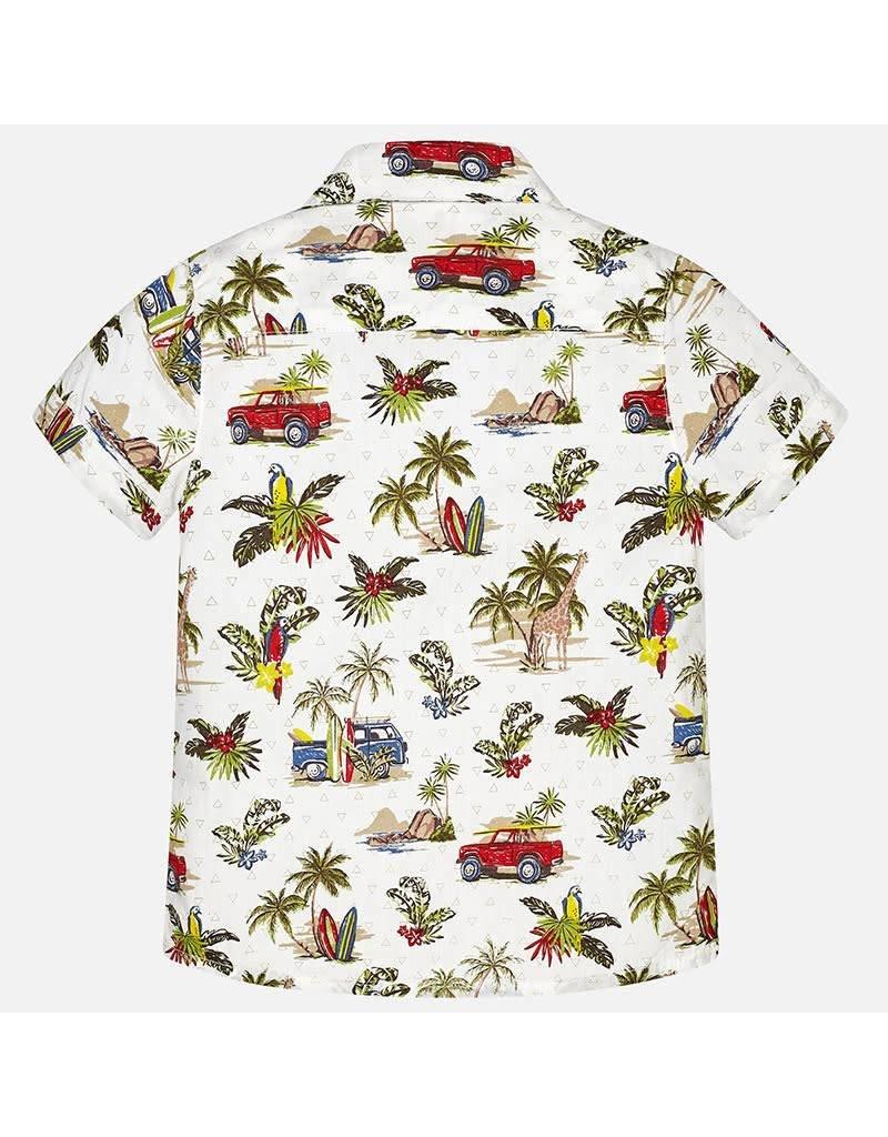 Mayoral Mayoral   Layered Look Safari Shirt
